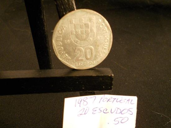 1987 Portugal 20 ESCUDOS