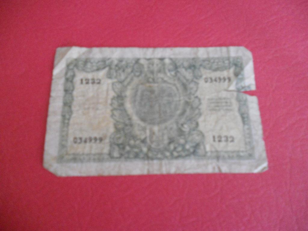 Italy 50 LIRE note, 1951
