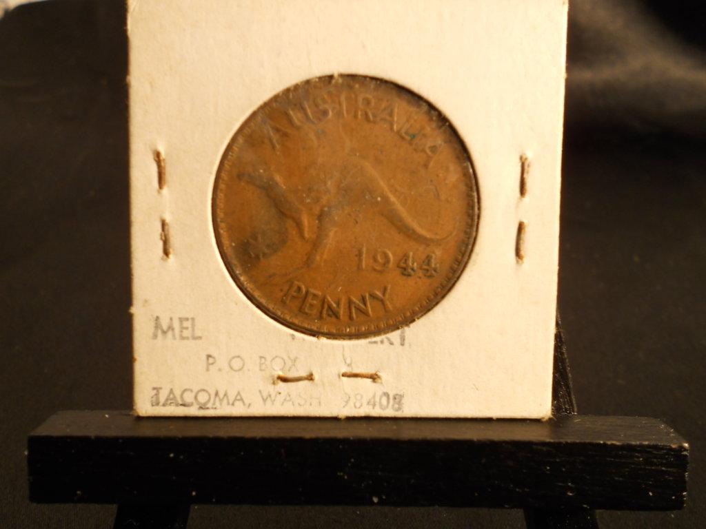1944 Australia Penny
