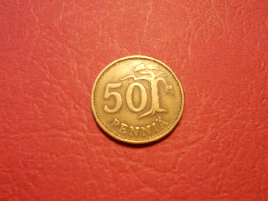 1963, 50 Pennia