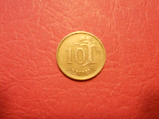 1963, Suomen Tasavalta, 10 Pennia
