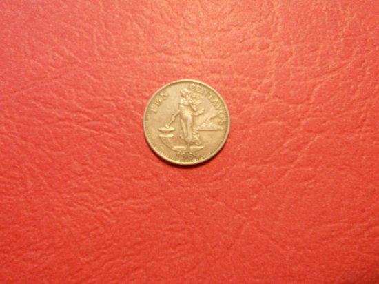1964 Phillipines 10 Centavos