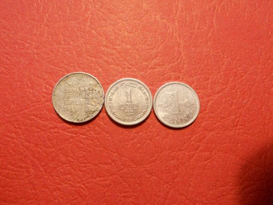 Lot of 3,1968 Korea, 1969 Suomen Tasavalta, 1971 Malaysia