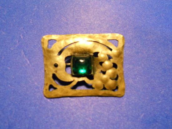 Antique/Vintage Gemstone Brooch