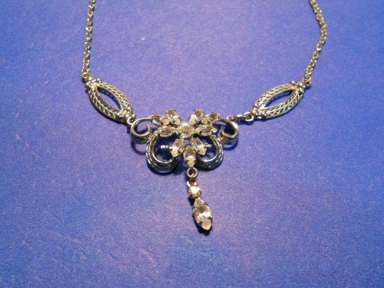 Vintage Ann Lee Sterling Necklace