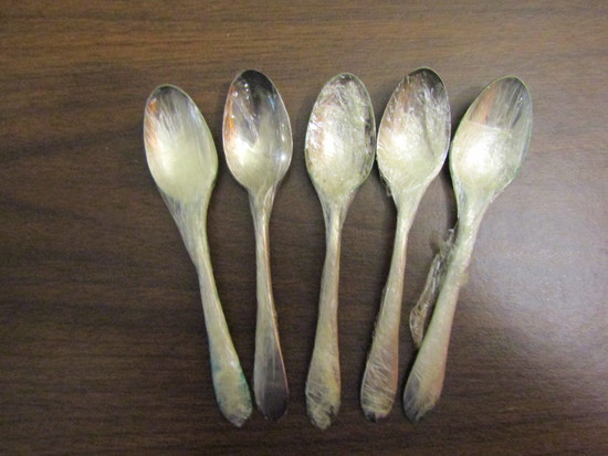 Vintage Lot of 5 Reed & Barton Spoons