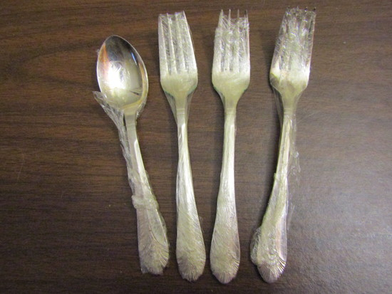 Lot of 4 DJ Marquis Spoon and Forks