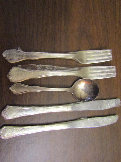 Vintage Lot of 5 Oneida Flatware