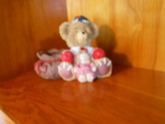 Vintage Bear Decor