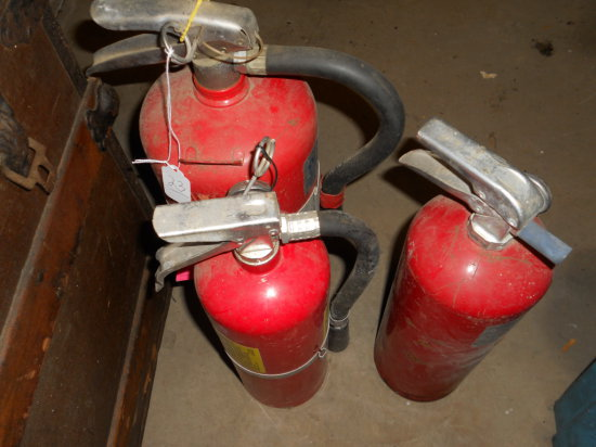 Lot of 3, ABC Fire Extinguishers