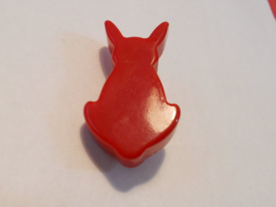 Vintage Bakelite Bunny Brooch