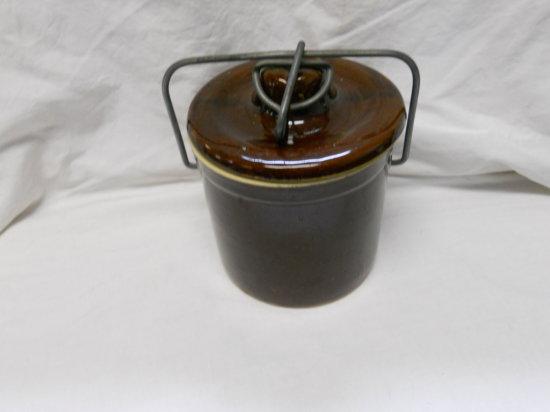 Vintage Brown Crock