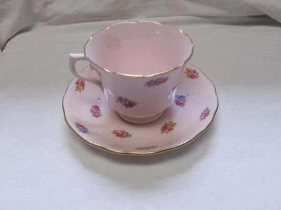 Vintage Royal Pink Teacup