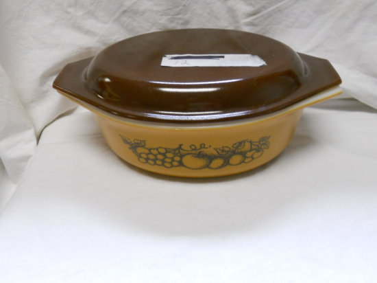 Vintage Brown Pyrex Dish