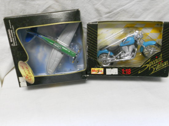 Lot of 2 Die Cast Toys, Special Edition