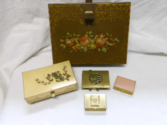 Vintage Trinket and Crumb Tray