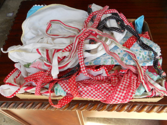 Lot of Vintage Aprons