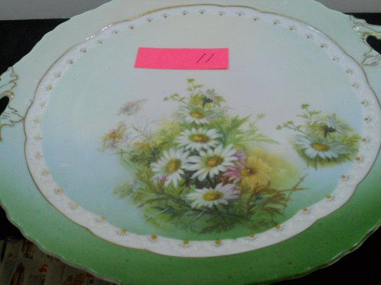 BRC Fideio Plate, Flower Design