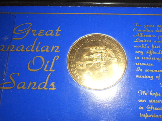 Great Canadian Oil Sands Medallion
