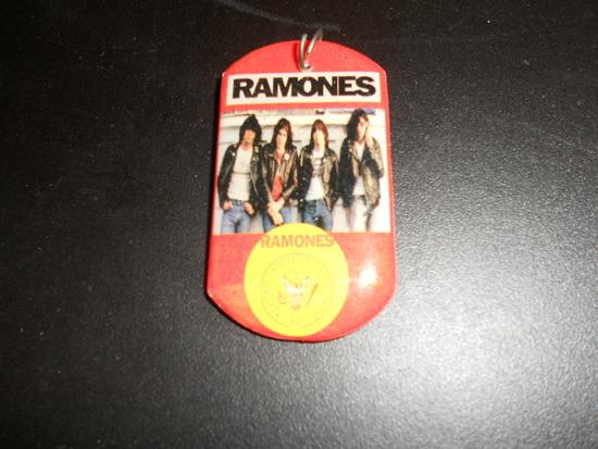 The Ramones Key Fob