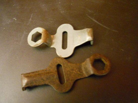 Lot of 2 Vintage Skate Keys