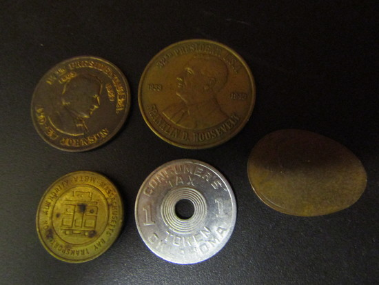 Lot of Collectible Coins and Tokens