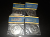 Lot of 4 Washington State Jubilee Coins, Original Package