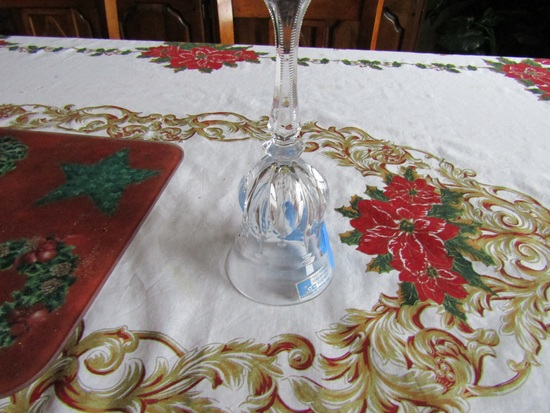 Lead Crystal Bell, made in Germany