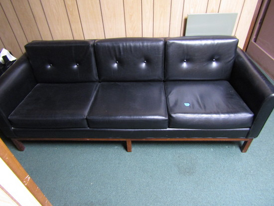 Black 6.5 ft Couch