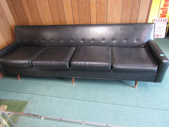 Black 8 ft Couch