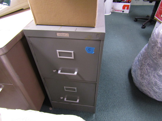 Lot of 2 Filing Cabinet, 2 Drawer