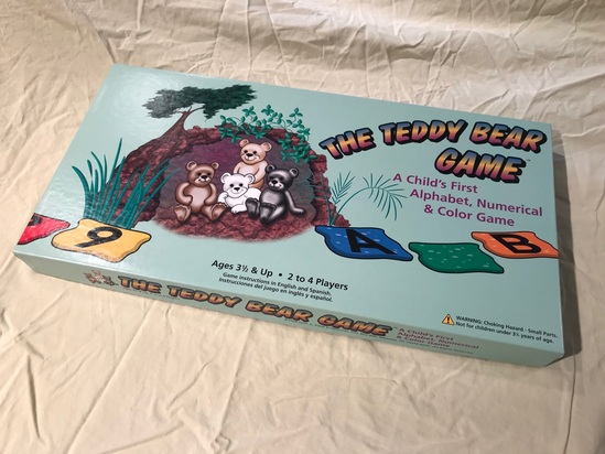 The Teddy Bear Board Game.  All bids are per game. Bid times number of games in the lot for total.