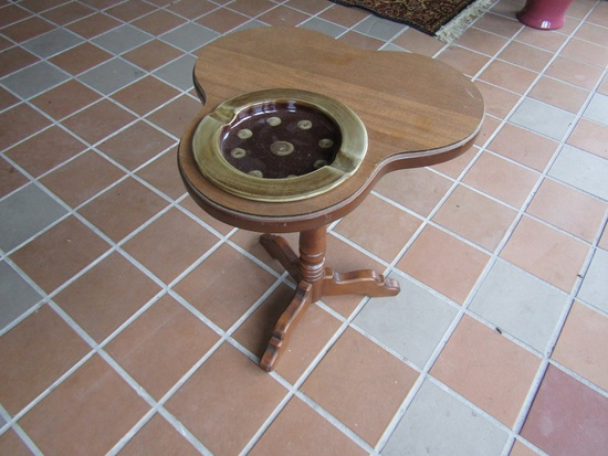 Vintage Ashtray Stand with Ashtray