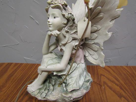 """Fairy with Flowers Décor, 14"""" Tall"""