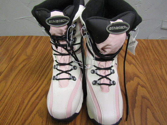 Atheletech Boots, size 9, New