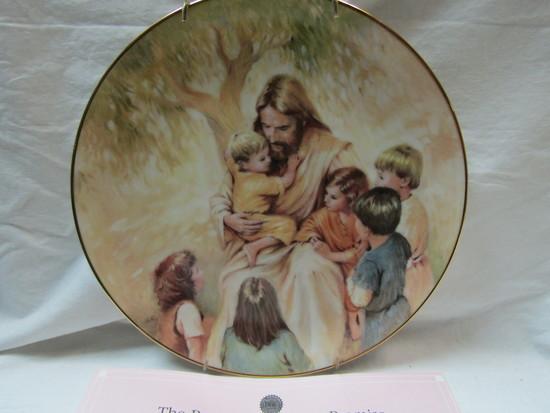 W. S. George Decorative Plate, Bradford Exchange, COA