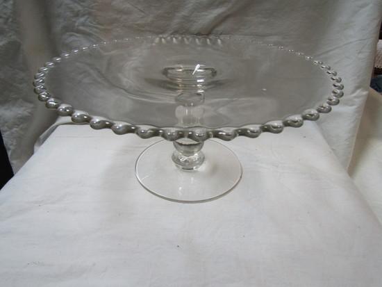 Vintage Pedestal Plate