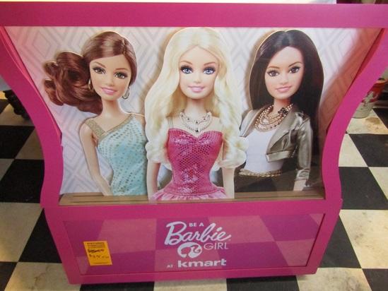 Large Barbie Doll Advertising display