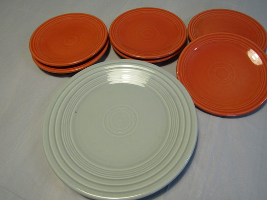 Lot of 7 Fiesta Plates