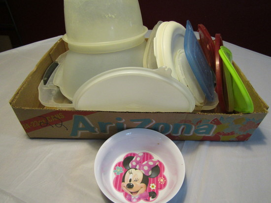 Kitchen Ware Plastic Bowls and Lids