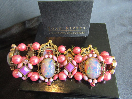 Vintage Joan Rivers Bracelet with original Box