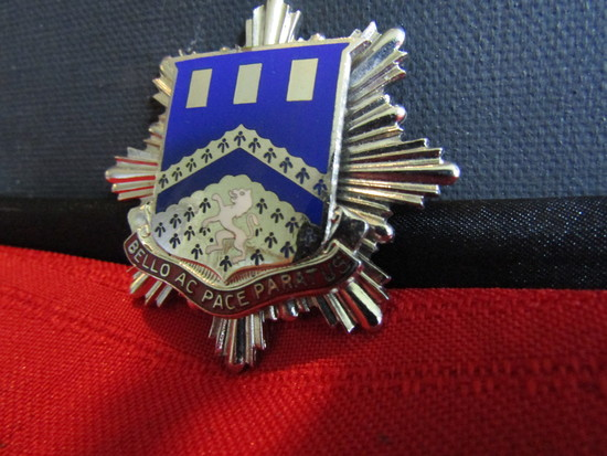 Vintage Pin, 112th Battalion Unit Crest