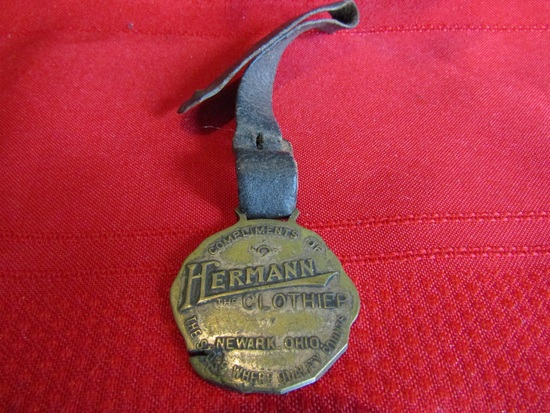 Vintage Advertising Watch Fob