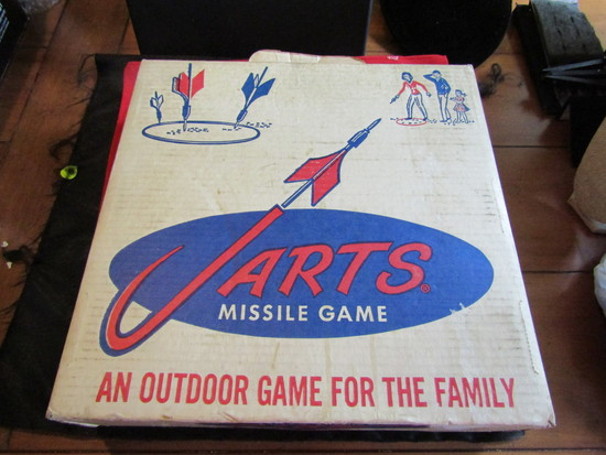 Vintage JARTS Game in Box