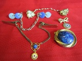 Lot of 5 Vintage Clips and Brooch, American Legion