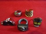 Vintage Lot of 5 Rings