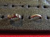 Lot of 2 Vintage Sterling Rings