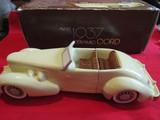 Vintage Avon Car Cologne Bottle, 1937 Cord