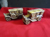 Vintage Salt and Pepper Shakers, Cars