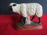 Vintage Sheep Folk Art, Vaillancourt